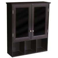 Black Bathroom Cabinet