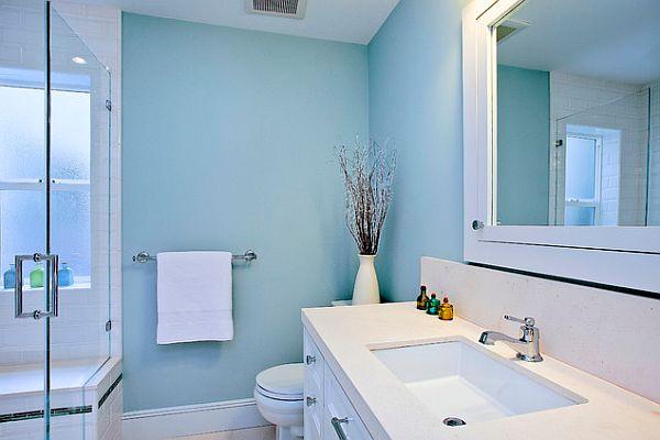 Blue and White Bathroom Decorating Ideas  Decor