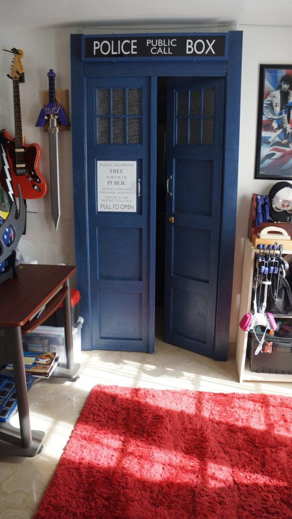 Tardis Bedroom Door  Decor IdeasDecor Ideas