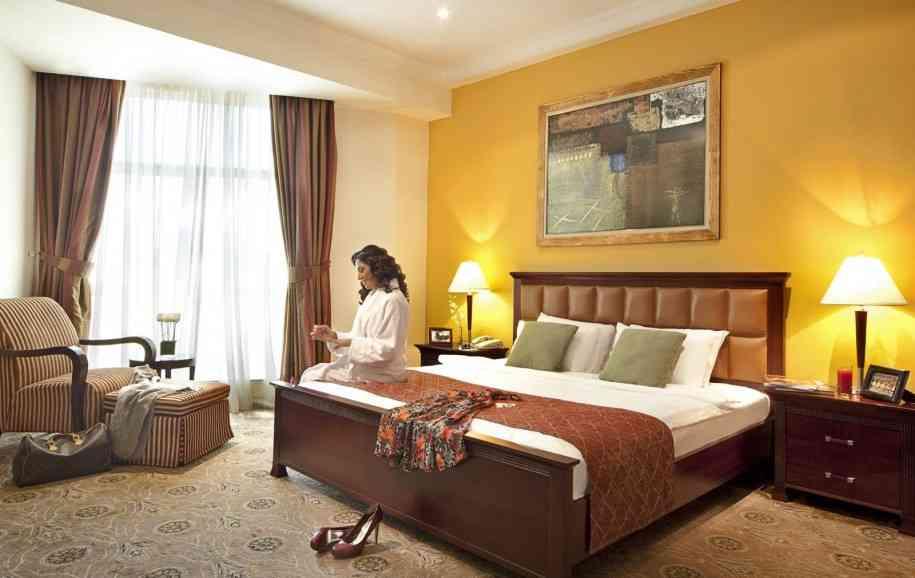 Brown and Yellow Bedroom  Decor IdeasDecor Ideas