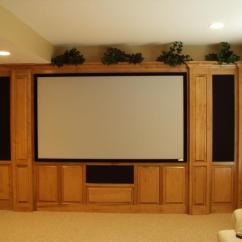 How To Decorate My Living Room With A Sectional Arabic Set Custom Home Theater Cabinets - Decor Ideasdecor Ideas