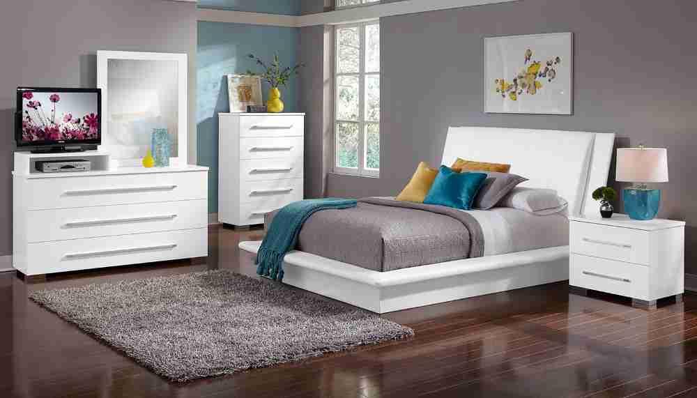 Dimora White Bedroom Set  Decor IdeasDecor Ideas