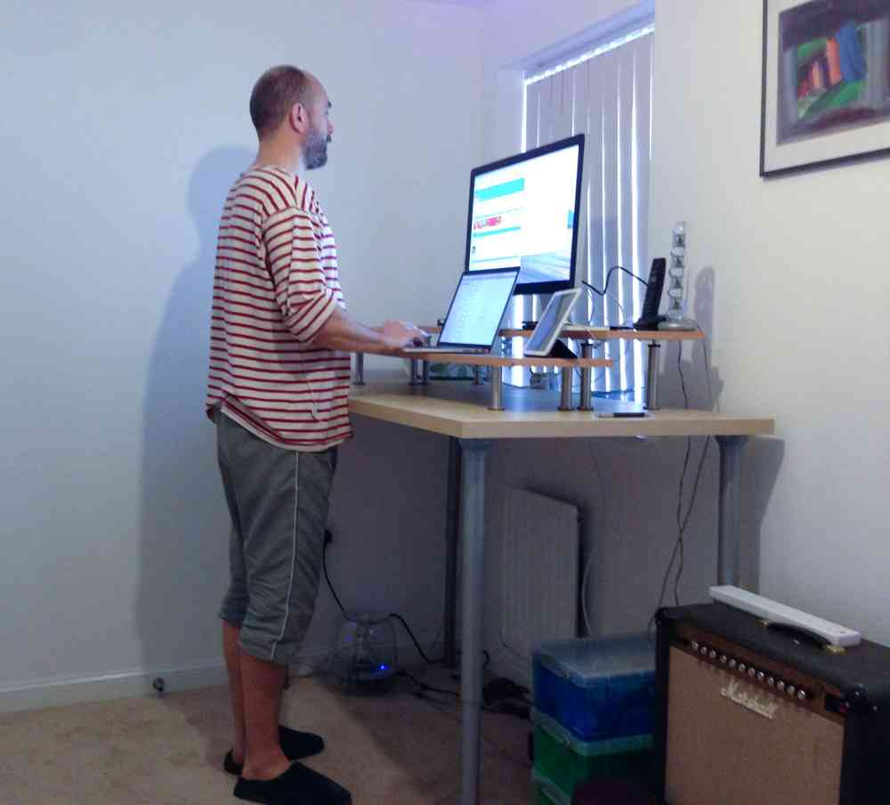 Ikea Standing Desk Hack  Decor IdeasDecor Ideas
