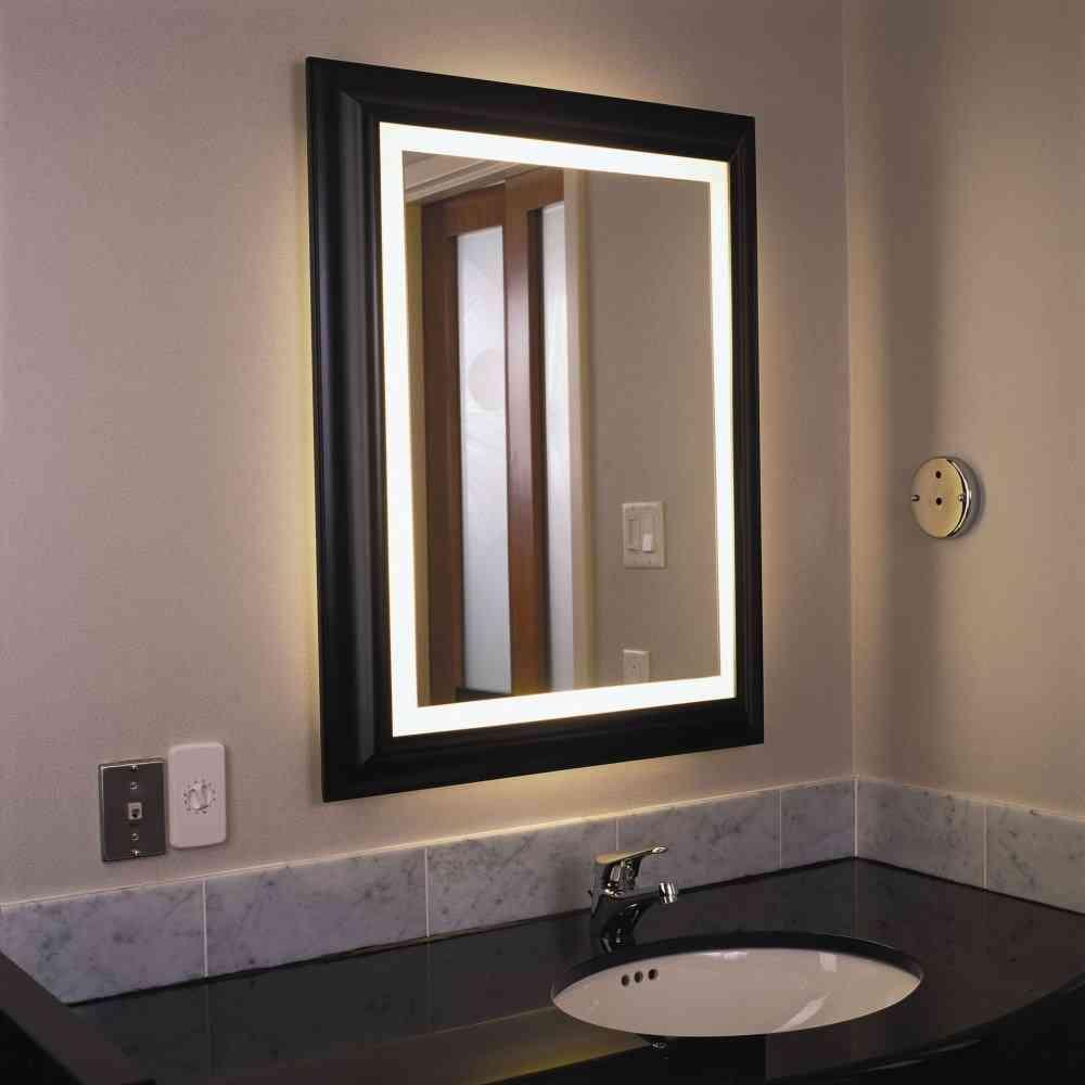 Lighted Bathroom Wall Mirror  Decor IdeasDecor Ideas