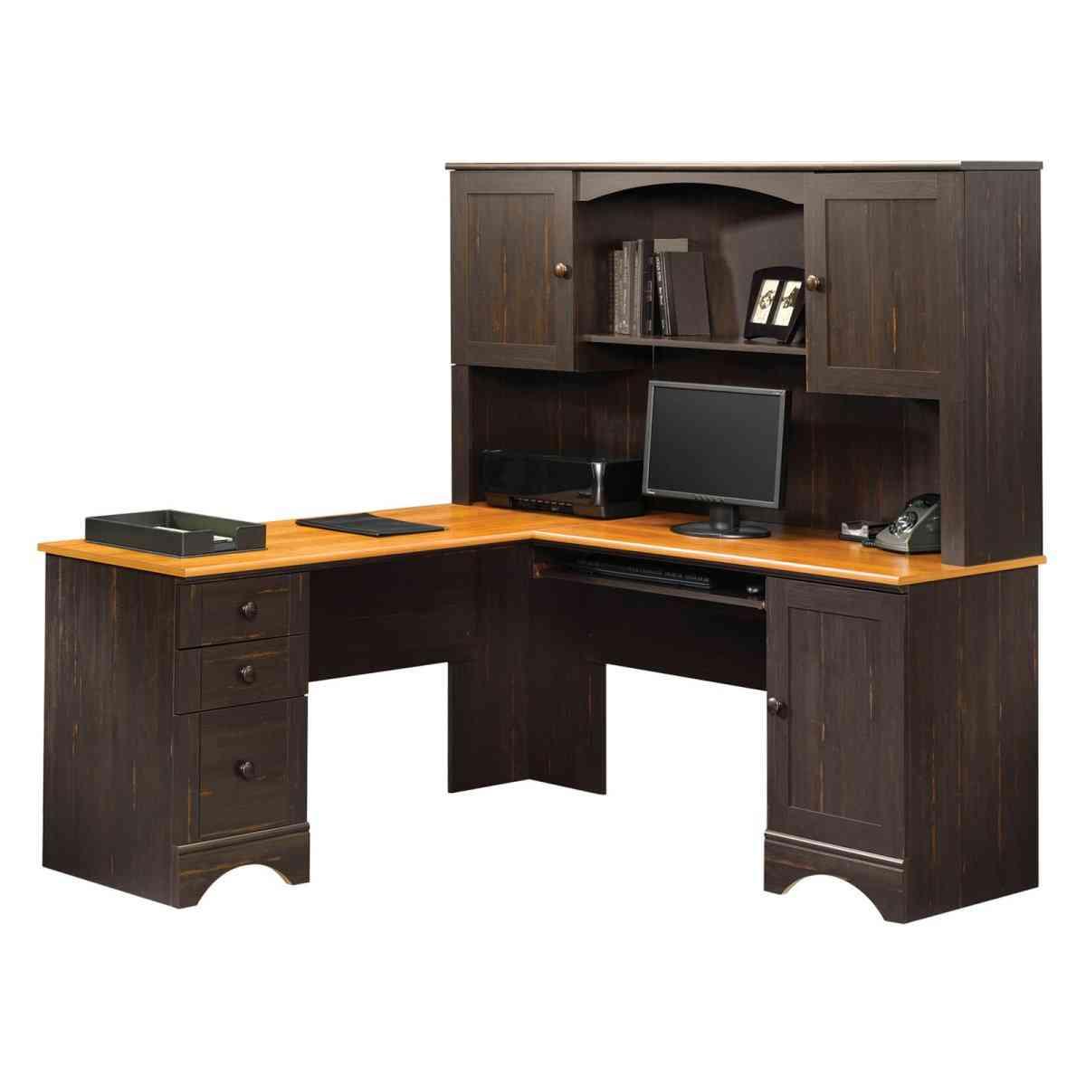 Sauder Corner Desk with Hutch  Decor IdeasDecor Ideas