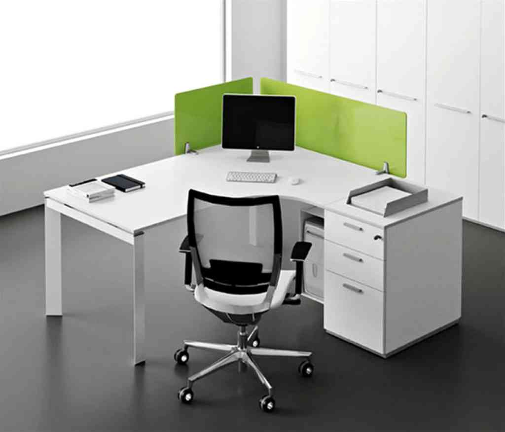 White Corner Office Desk  Decor IdeasDecor Ideas