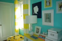 Yellow and Teal Bedroom - Decor IdeasDecor Ideas