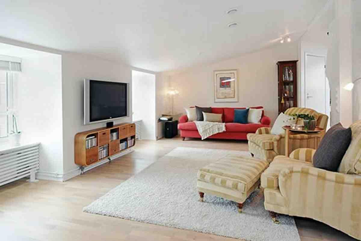 large sectional sofa in small living room walmart sofas area rug ideas for - decor ideasdecor