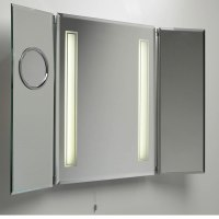 Bathroom Medicine Cabinet with Mirror and Lights - Decor ...