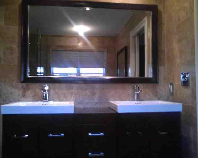 Custom Framed Bathroom Mirrors  Decor IdeasDecor Ideas