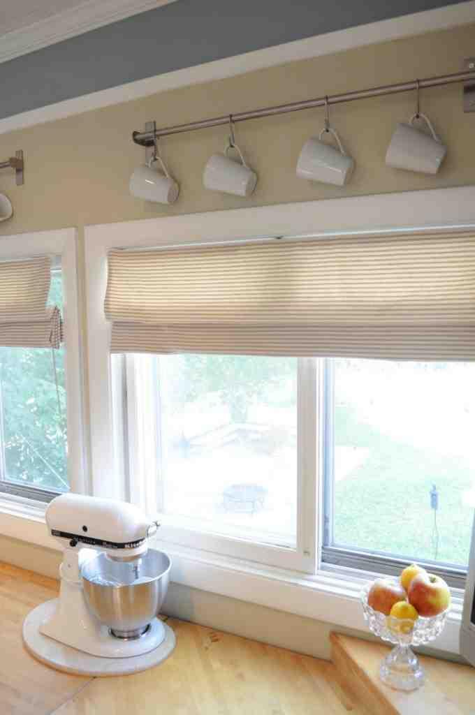 DIY Kitchen Window Treatments  Decor IdeasDecor Ideas