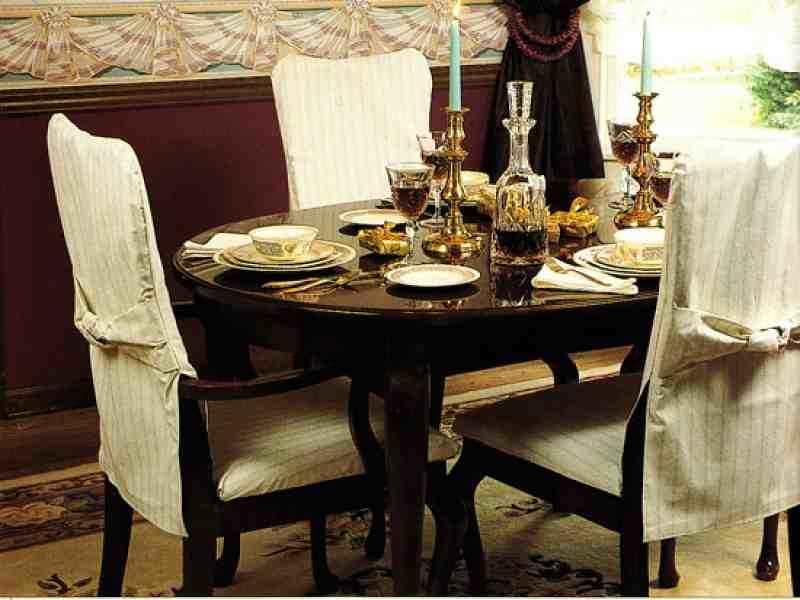 Dining Room Chair Covers With Arms  Decor Ideasdecor Ideas