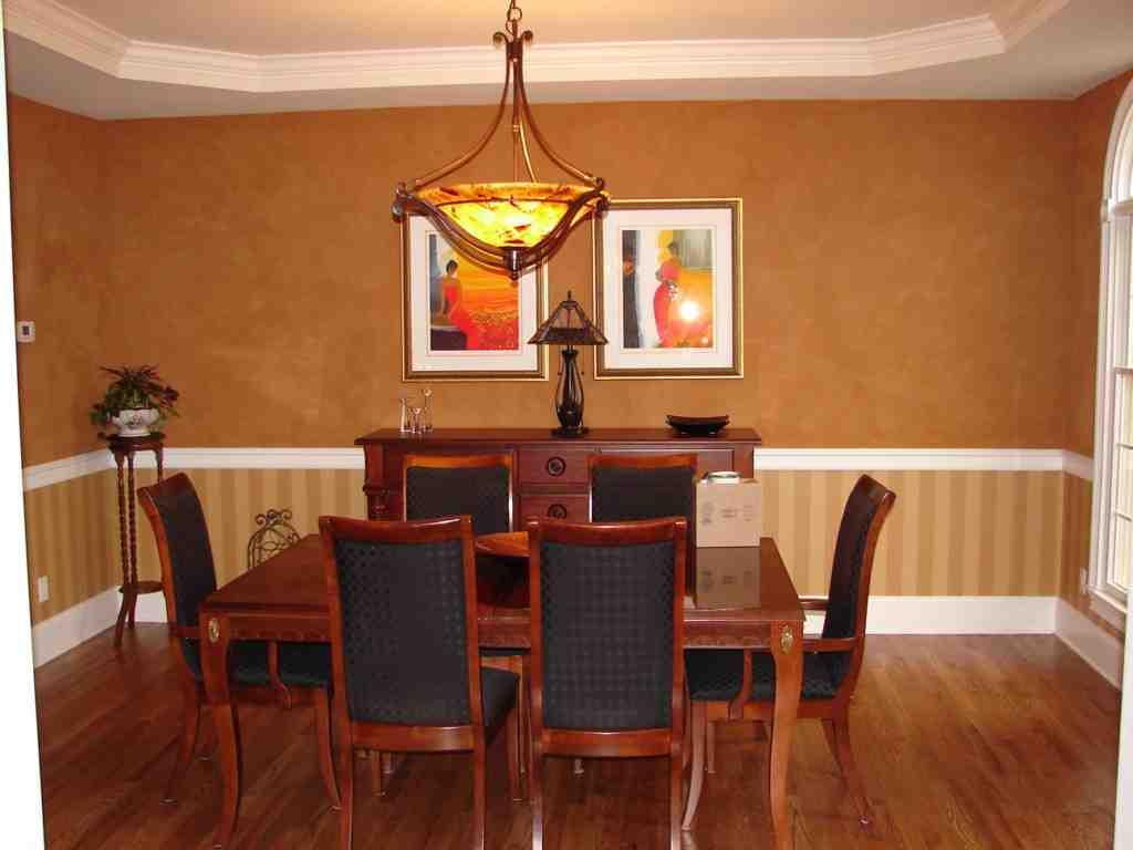 chair rail designs ideas sergio rodriguez dining room decor ideasdecor