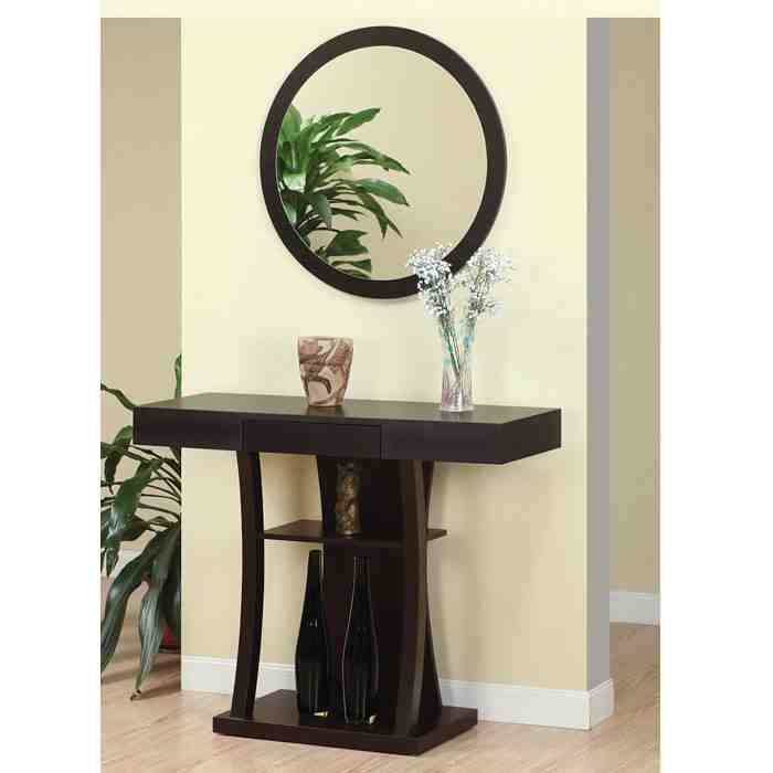 Entryway Table and Mirror