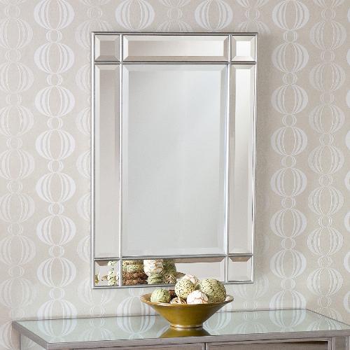 Frameless Beveled Bathroom Mirror  Decor IdeasDecor Ideas