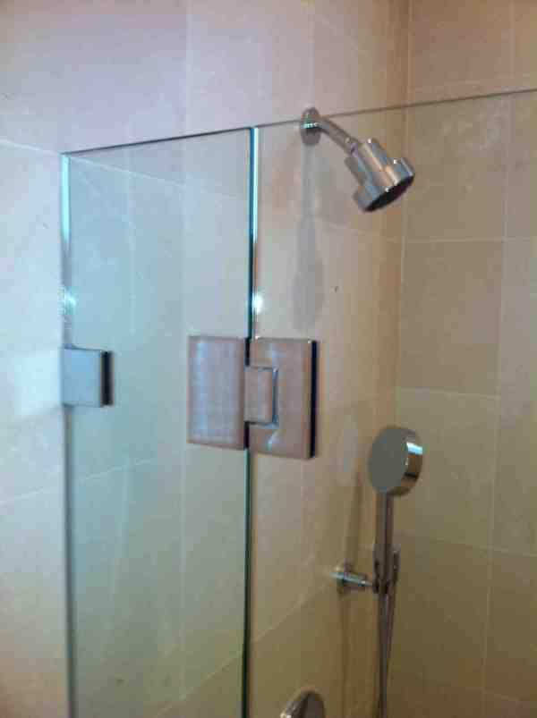 Frameless Glass Shower Door Hardware