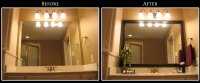Framing Bathroom Mirror Ideas - Decor IdeasDecor Ideas
