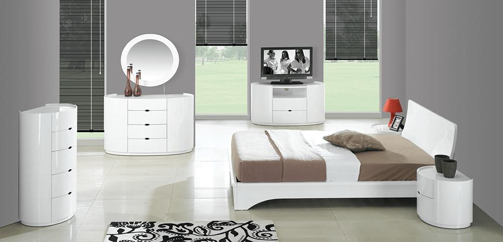 High Gloss White Bedroom Furniture  Decor IdeasDecor Ideas