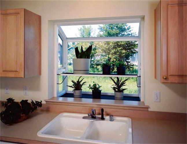 Kitchen Greenhouse Window  Decor IdeasDecor Ideas