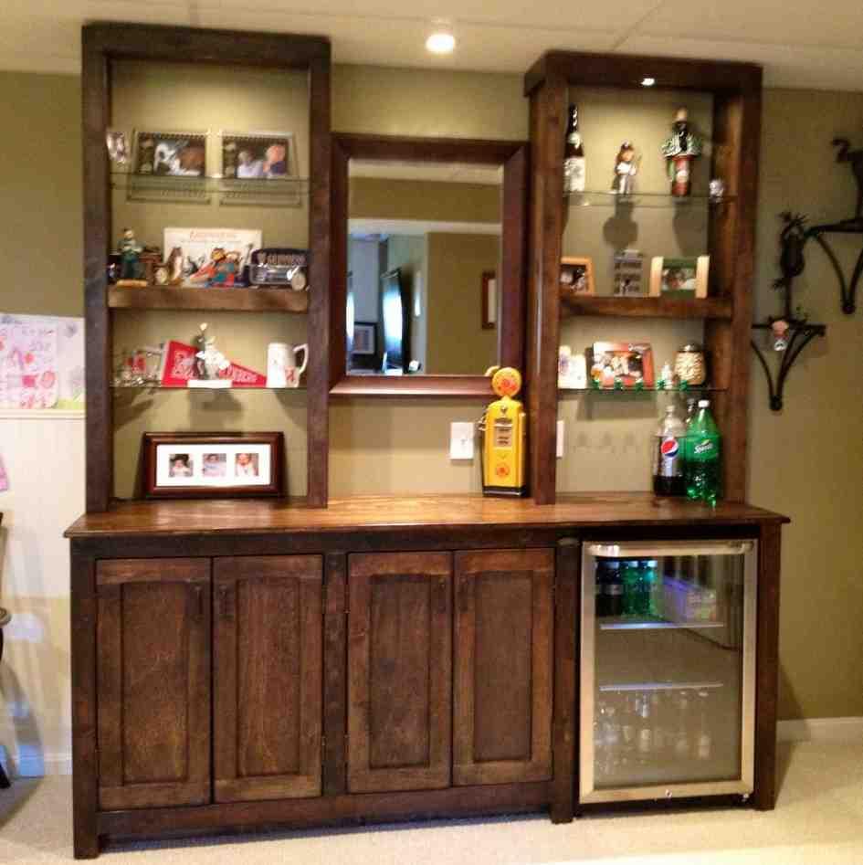 Living Room Bar Cabinet  Decor IdeasDecor Ideas