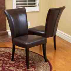 Leather Dining Room Chairs Bedroom Chair With Blanket Brown Decor Ideasdecor Ideas