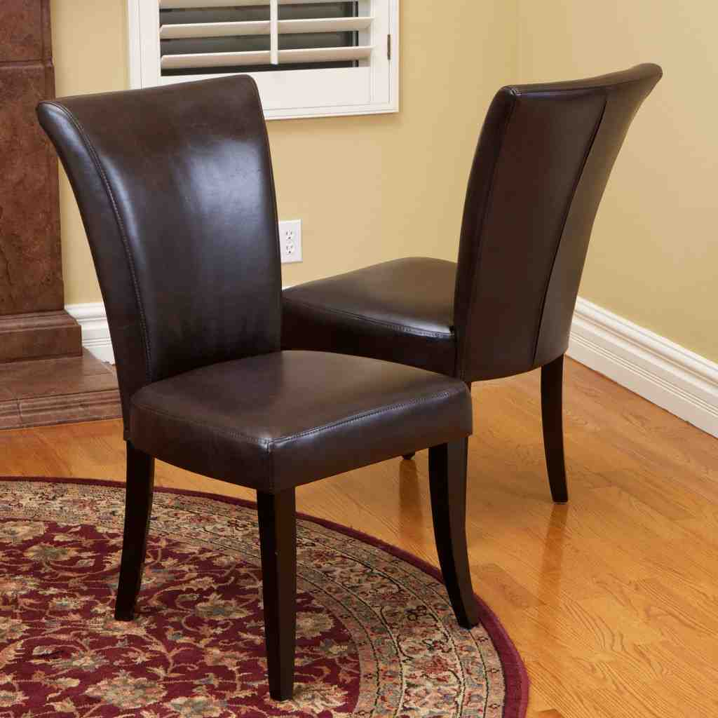 chocolate leather dining chairs orange bucket chair brown room decor ideasdecor ideas