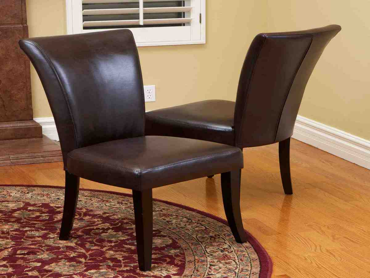 Dining Room Chairs Leather Brown Leather Dining Room Chairs Decor Ideasdecor Ideas