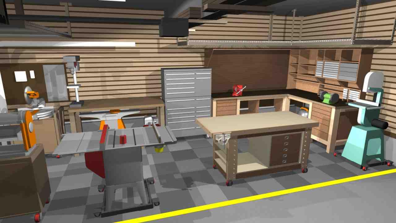 Simple Garage Shop Design Ideas Placement  House Plans  76104