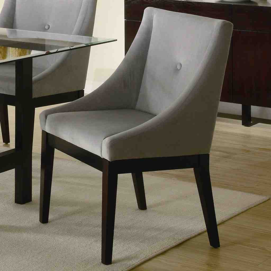dining room chairs upholstered with arms hanging chair stand ikea leather decor ideasdecor ideas