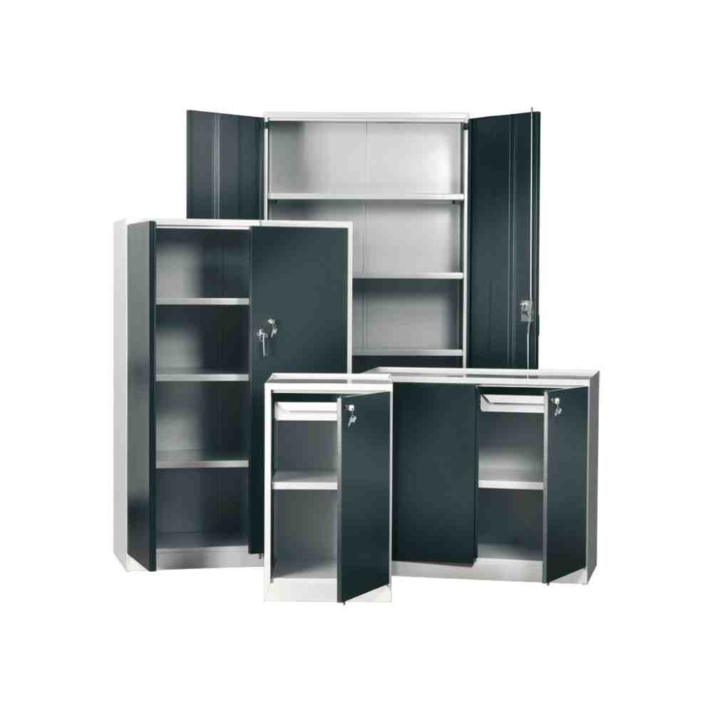 Metal Storage Cabinets With Doors And Shelves Decor