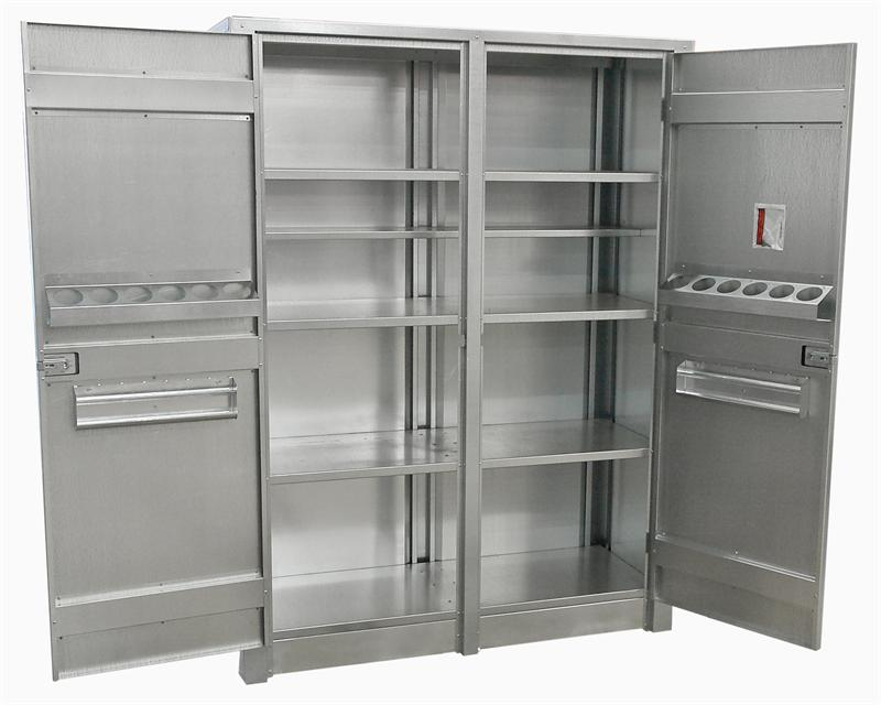 Metal Storage Cabinets That Stand Up Strong  Decor