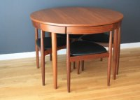Mid Century Modern Kitchen Table and Chairs - Decor ...