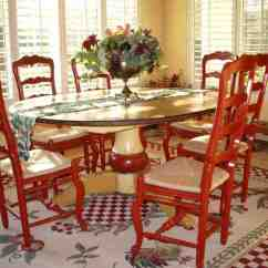 Wicker Dining Room Chairs Indoor Ikea High Chair Review Painted Kitchen Table And - Decor Ideasdecor Ideas
