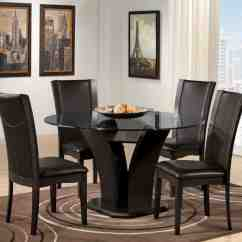 Black Round Kitchen Table And Chairs Chair Covers Weddingbee Decor Ideasdecor Ideas
