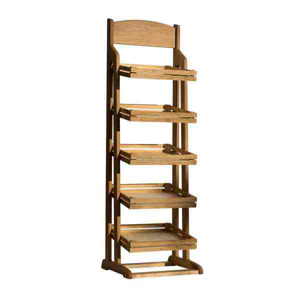 Wood Tiered Display Stand