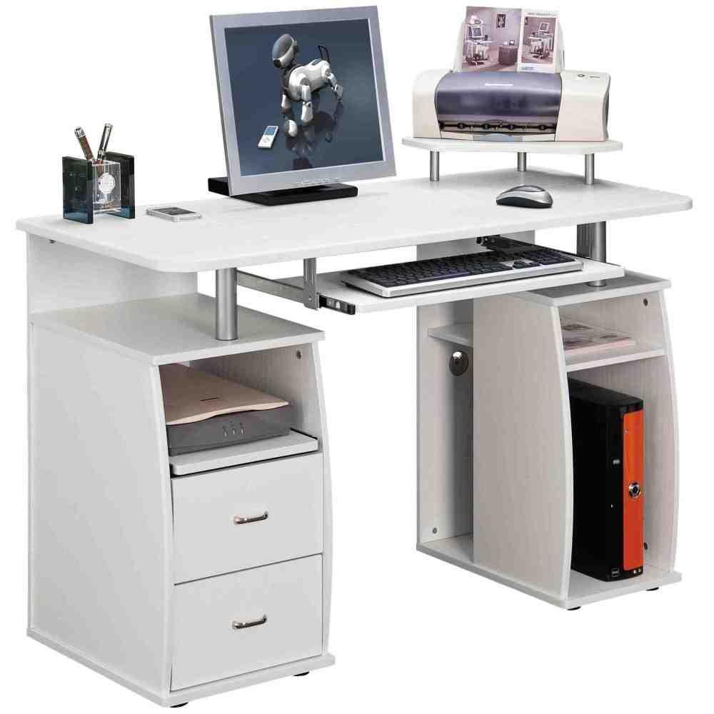 Computer Table With Storage Decor IdeasDecor Ideas