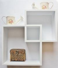 White Floating Shelves - Decor IdeasDecor Ideas