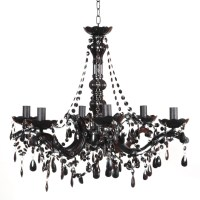 Black Chandelier  a Charming Way to Light Your World ...