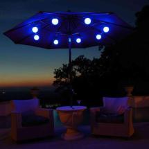Outdoor Umbrella With Solar Lights - Decor Ideasdecor Ideas