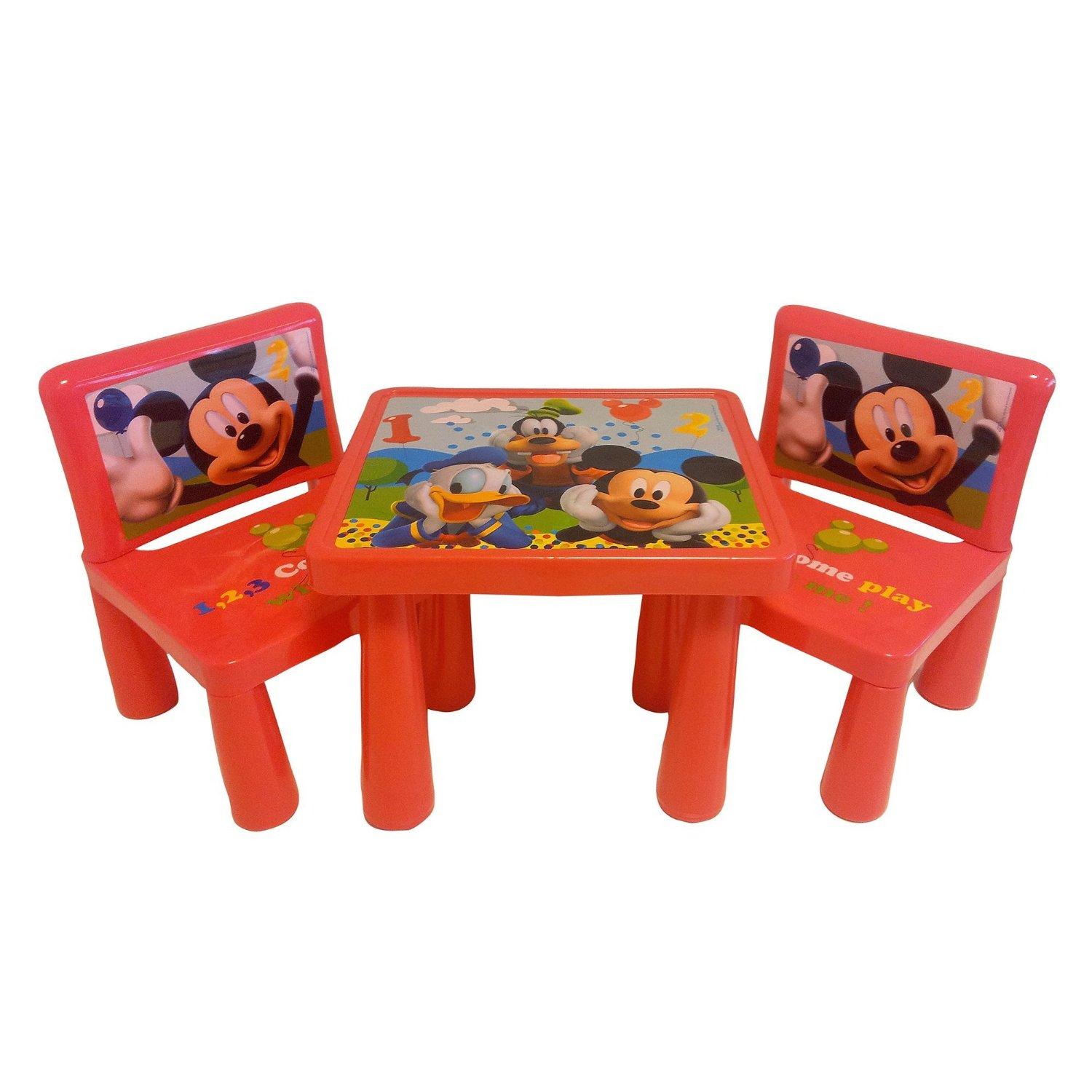 mickey mouse clubhouse table and chair set back jack floor - decor ideasdecor ideas