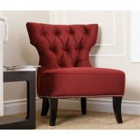 Burgundy Accent Chair - Decor IdeasDecor Ideas