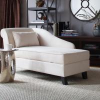 Storage Chaise Lounge Chair - Decor IdeasDecor Ideas