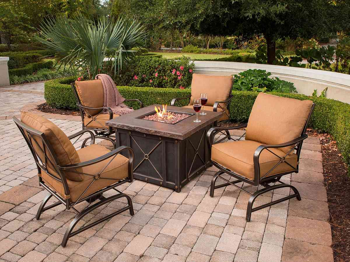 Firepit Chairs Fire Pit Sets With Chairs Decor Ideasdecor Ideas
