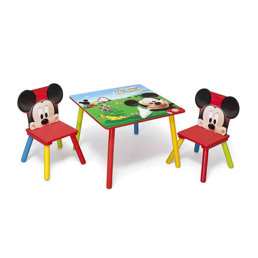 inexpensive kitchen table sets curtains blue mickey mouse and chair set - decor ideasdecor ideas