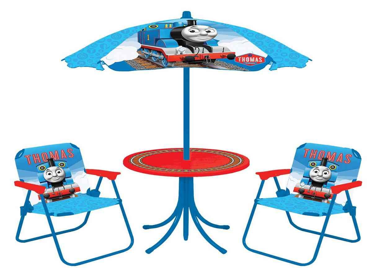 thomas train chair folding with umbrella holder the table and set decor ideasdecor ideas