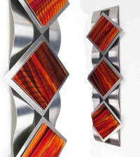 Abstract Metal Art Wall Decor