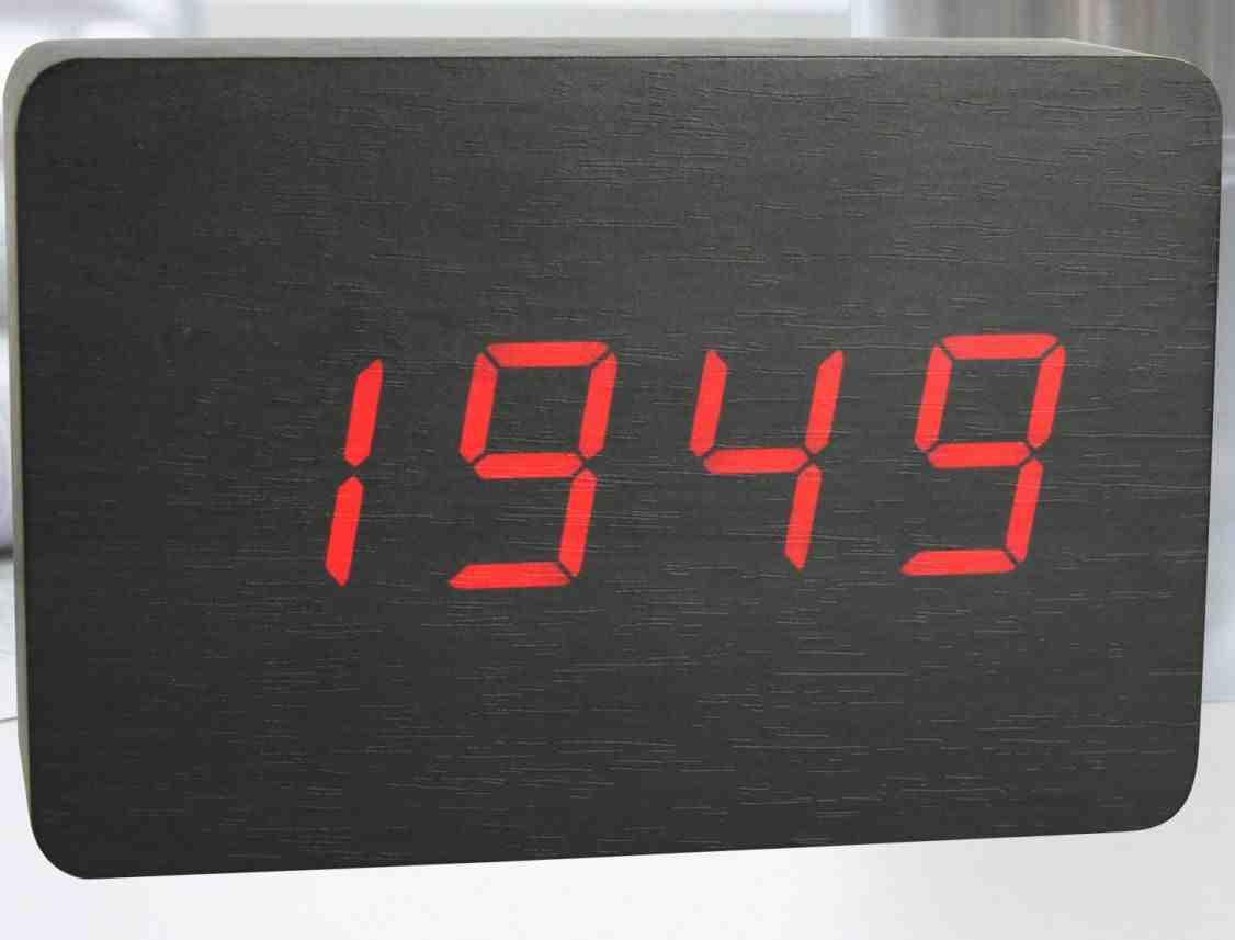 Battery Powered Digital Wall Clock Decor Ideasdecor Ideas