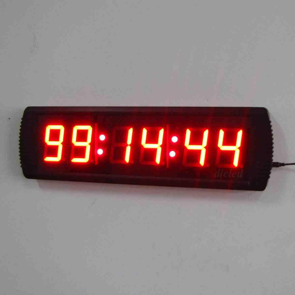 Large Digital Wall Clock With Seconds Decor Ideasdecor Ideas