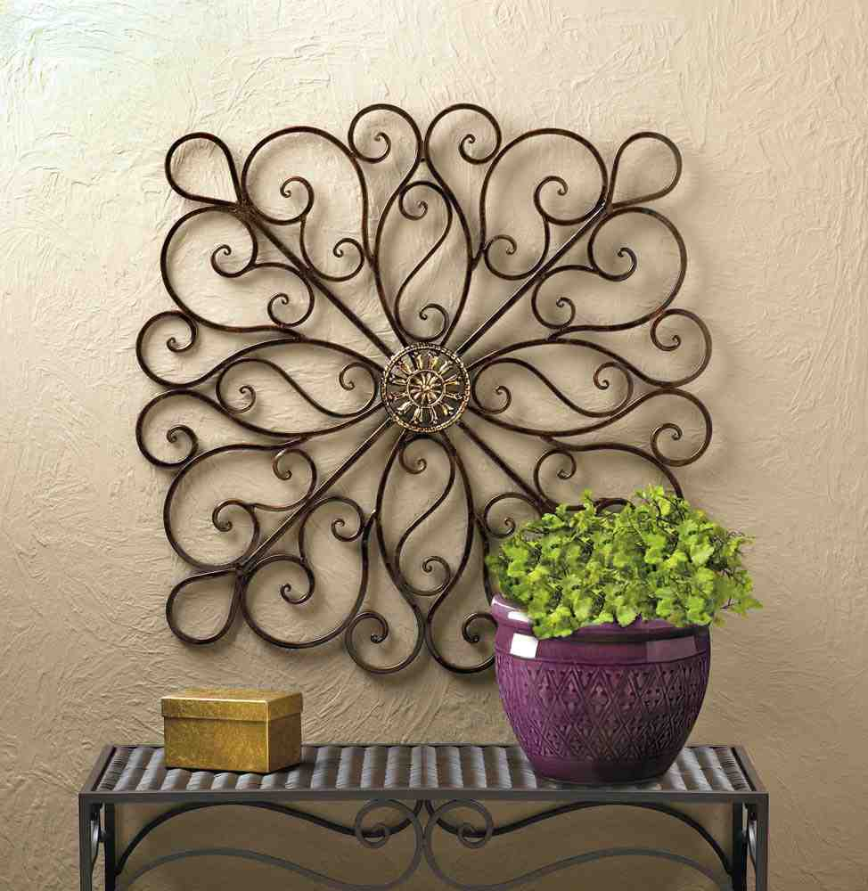 Wrought Iron Wall Decor: Accent Your Home