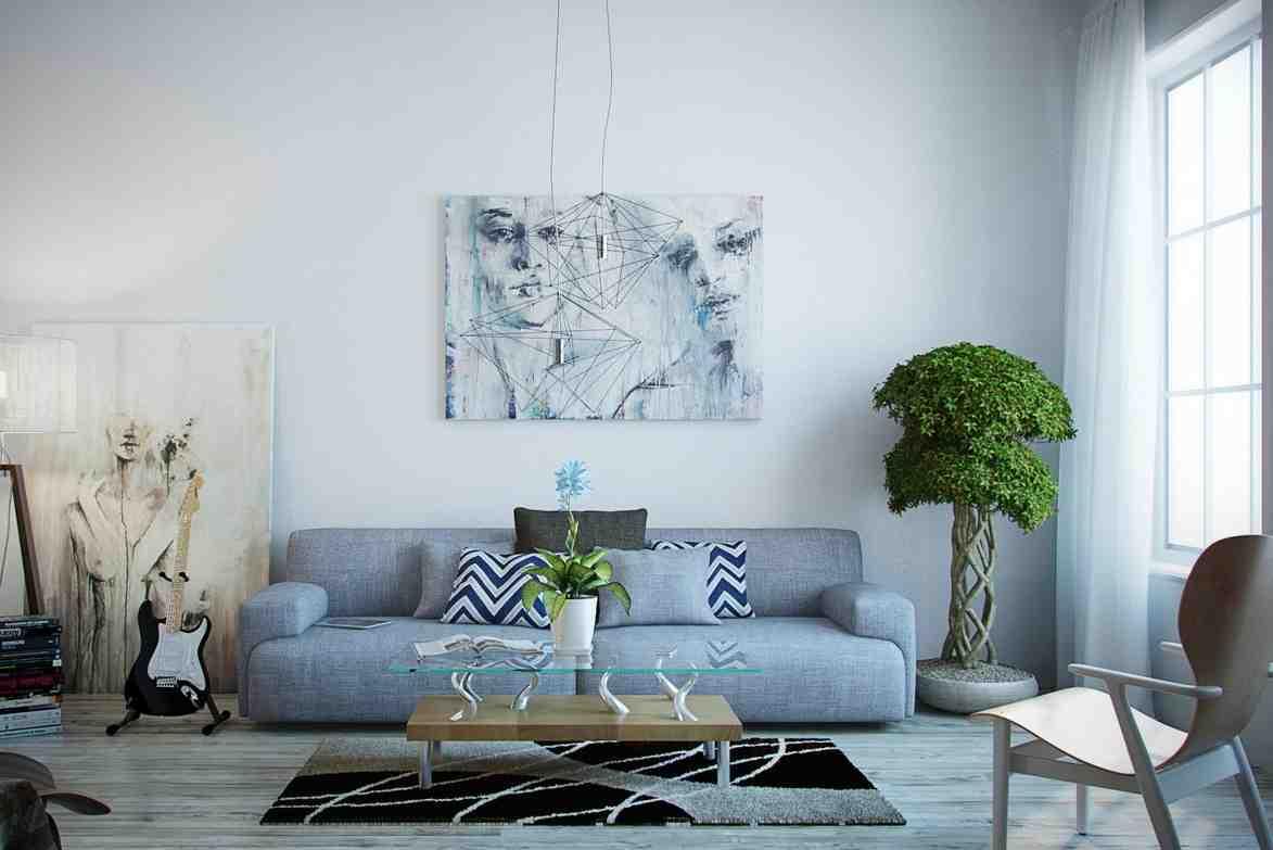 Modern Paintings for Living Room  Decor IdeasDecor Ideas